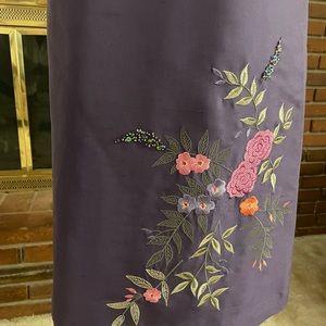100%Silk Pencil Skirt